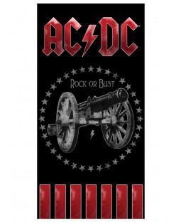 AC/DC Rock Beach Towel