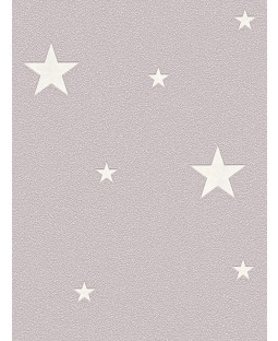 Glow in the Dark Stars Wallpaper Taupe - AS Creation 32440-2