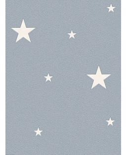 Glow in the Dark Stars Wallpaper Grey - AS Creation 32440-3