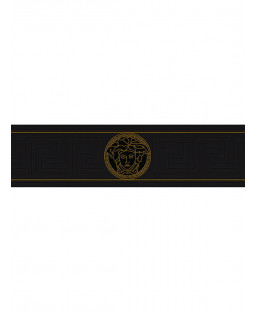 Versace Greek Key Border - Black 935224