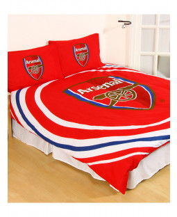 Arsenal FC Pulse Double Duvet Cover Bedding Set