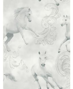 Sfondo di Camarillo Horse - Grigio - Arthouse 667300