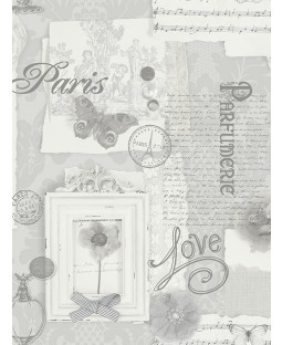 Grey Felicity Paris Wallpaper 665401 Arthouse