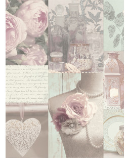 Blush Floral Wallpaper - 665200 Arthouse