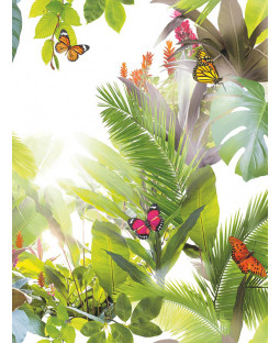 Tropics Amazonia Wallpaper - Citrus - Arthouse 690300
