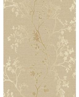 Precious Metals Orabella Wallpaper - Gold - Arthouse 673401