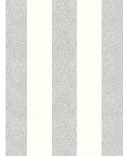Glitterati Stripe Glitter Wallpaper Platinum Arthouse 892503