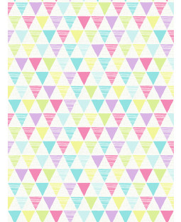 Arthouse Jester Geometric Wallpaper Bright Multi 696005
