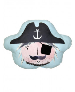 Pirates Ahoy Eye Patch Pocket Cushion