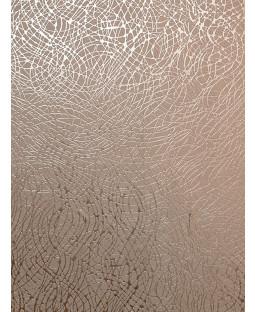 Foil Swirl Wallpaper Rose Gold Arthouse 294101
