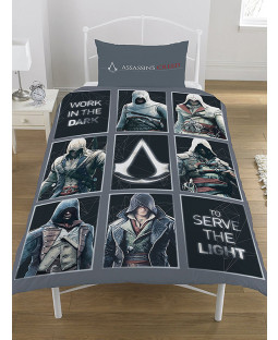Assassin's Creed Legacy Single Duvet Cover Bedding Set