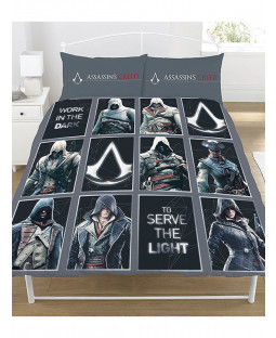 Assassin's Creed Legacy Double Duvet Cover Bedding Set