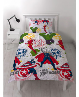 Funda nórdica Juego de regalo Marvel Avengers Bedroom