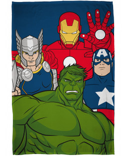 Marvel Avengers Mission Fleece Blanket