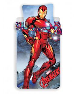 Marvel Avengers Iron Man Single Duvet Cover Set