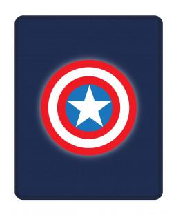 Marvel Avengers Captain America Shield Fleece Blanket