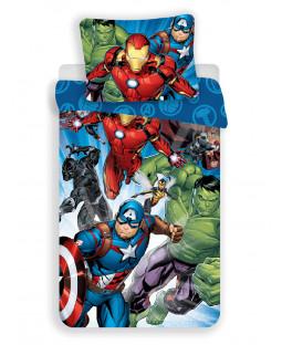 Marvel Avengers Single Cotton Duvet Cover Set - European Size