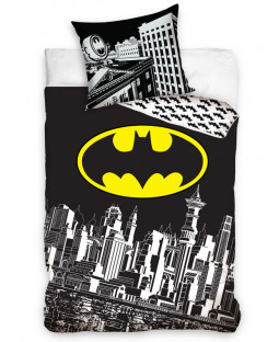 Batman Gotham City Single Cotton Duvet Cover Set