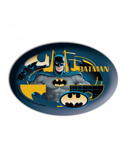 Batman Shaped Filled Cushion