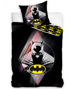 Batman Single Cotton Duvet Cover and Pillowcase Set