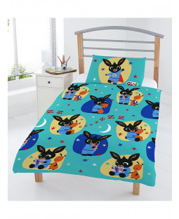 Bing Bunny Bedtime 4 in 1 Junior Bedding Bundle Set (Duvet and Pillow and Covers)