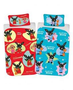 Bing Bunny Woosh Junior Toddler Duvet Cover Set