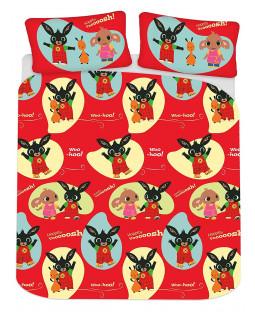 Bing Bunny Woosh Double Duvet Cover Set