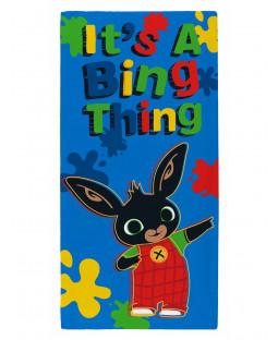 Bing Bunny è un asciugamano Bing Thing