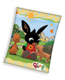 BIng Bunny Play Fleece Blanket