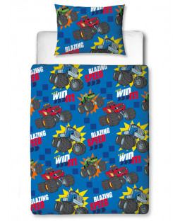 Blaze Zoom 4 in 1 Junior Bedding Bundle Set