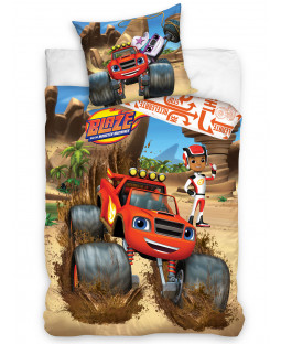 Blaze and the Monster Machines Single Duvet Cover Set -  European Size