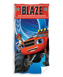 Blaze and The Monsters Machines 100% Cotton Towel