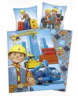Bob the Builder Cotton Single Duvet Cover and Pillowcase Set