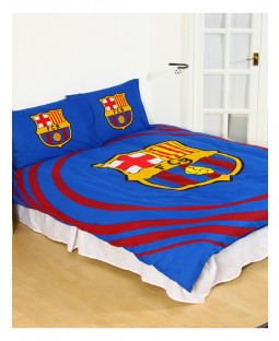 FC Barcelona Pulse Double Duvet Cover and Pillowcase Set