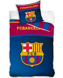 FC Barcelona Centre Logo Single Duvet Cover Set