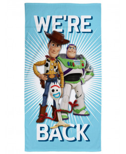 Toy Story 4 We're Back Beach Towel