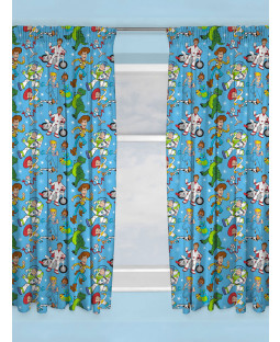 "Toy Story 4 Rescue Curtains 72"" Drop"