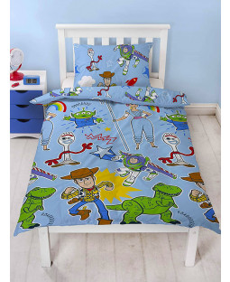 Toy Story 4 Roar Single Duvet Cover Set - Rotary Design