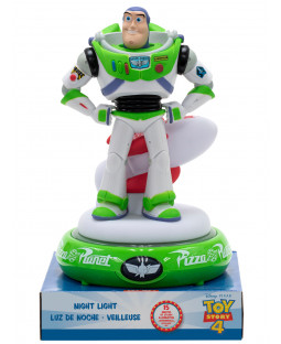 Toy Story Buzz Lightyear 3D Figure Night Light Lamp