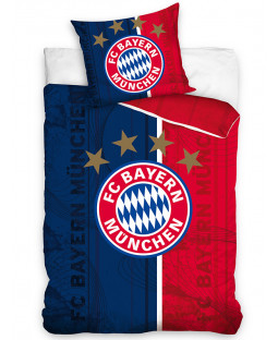 FC Bayern Munich Crest Single Cotton Duvet Cover Set