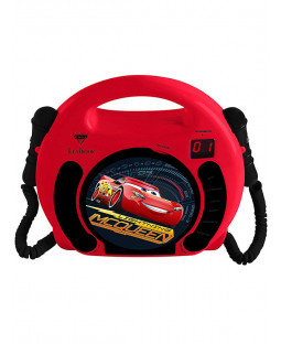 Disney Cars CD Player with Microphones