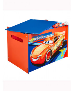 Disney Cars Toy Box - Blue and Red