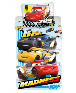 Disney Cars Drag Madness Single Duvet Cover Set