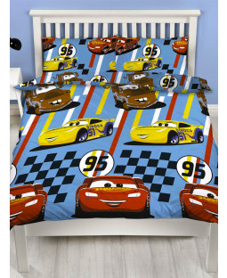 Disney Cars Dinoco Double Duvet Cover Set