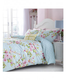 Catherine Lansfield Canterbury Double Duvet Cover Set