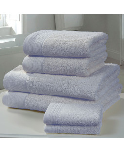 Chatsworth 4 Piece Towel Bale Blue- 2 Hand Towels, 2 Bath Towels