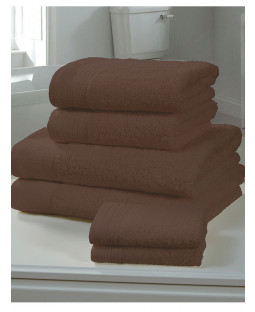 Chatsworth Towel Bale Chocolate - 2 Bath Sheets