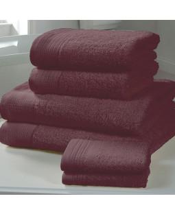 Chatsworth Towel Bale Damson - 2 Bath Sheets