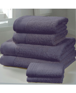 Chatsworth 4 Piece Towel Bale Denim - 2 Hand Towels, 2 Bath Towels