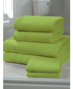Chatsworth Towel Bale Lime - 2 Bath Sheets